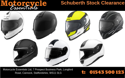 SCHUBERTH STOCK CLEARANCE