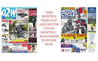 'O2W' + 'MOTORCYCLE MONTHLY' MAGAZINES