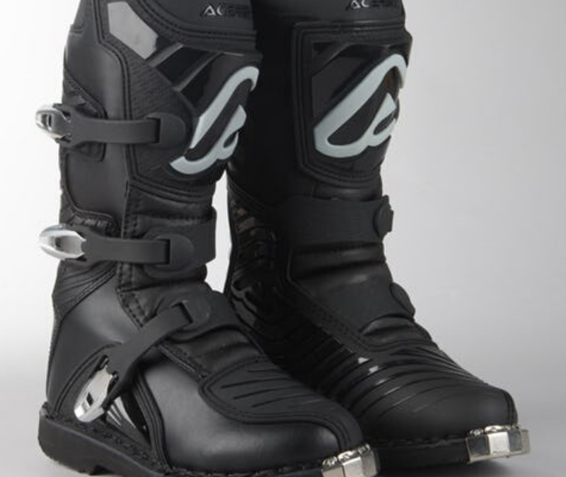 ACERBIS X-KID MX BOOTS BLACK