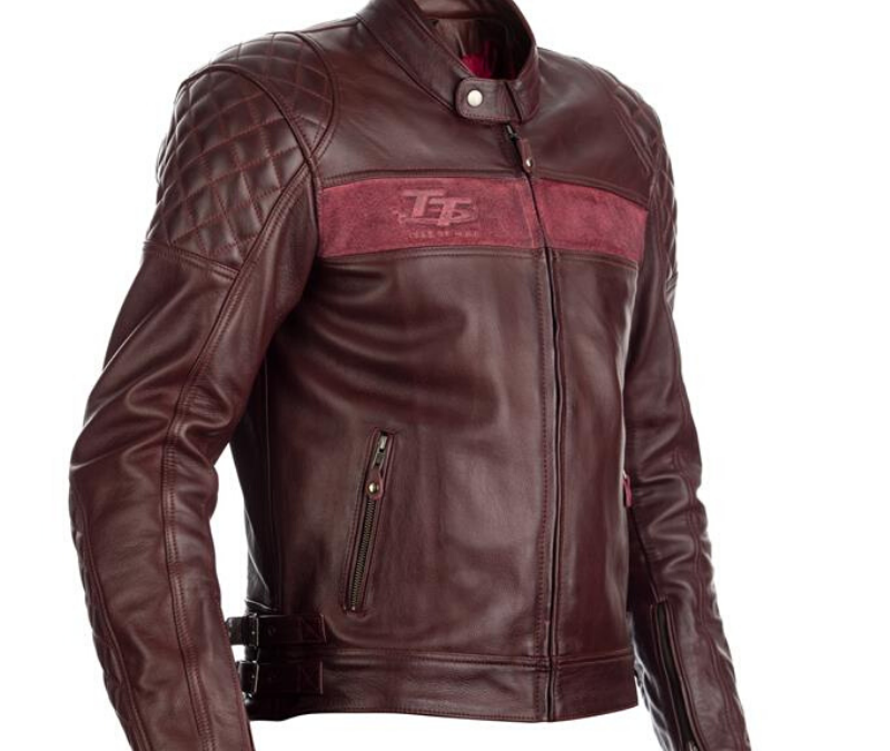 RST BRANDISH CE LEATHER JACKET RED